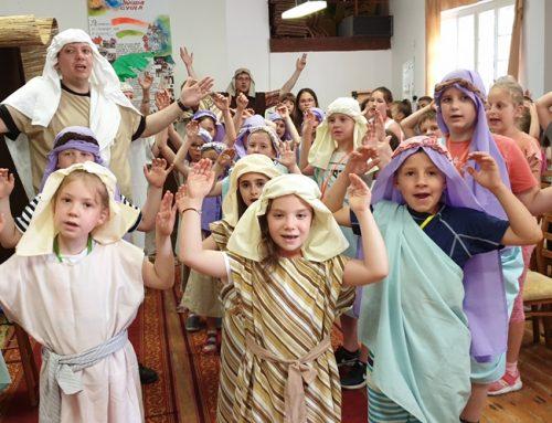 Életképek gyülekezetünk hittanos napközis táboráról