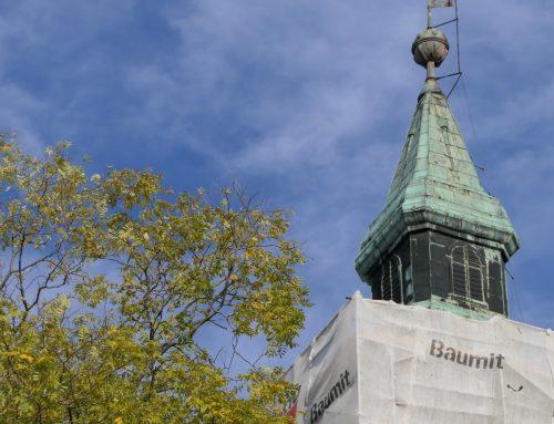 Templomunk felújítása képekben